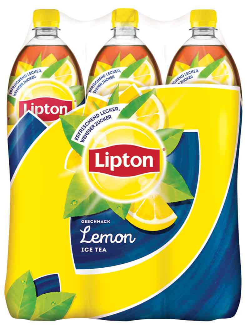 Lipton Ice Tea Eistee Lemon 6 x 1,5 l PET Einweg