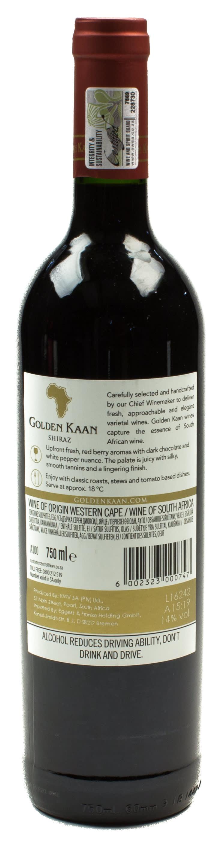 Golden Kaan Wein