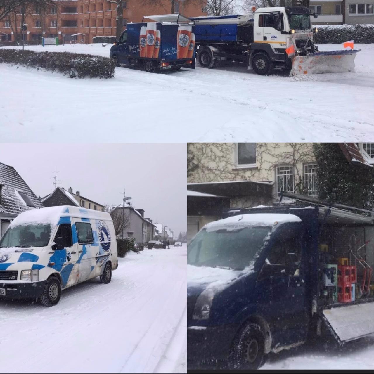 Getraenke Hax liefert im Winter