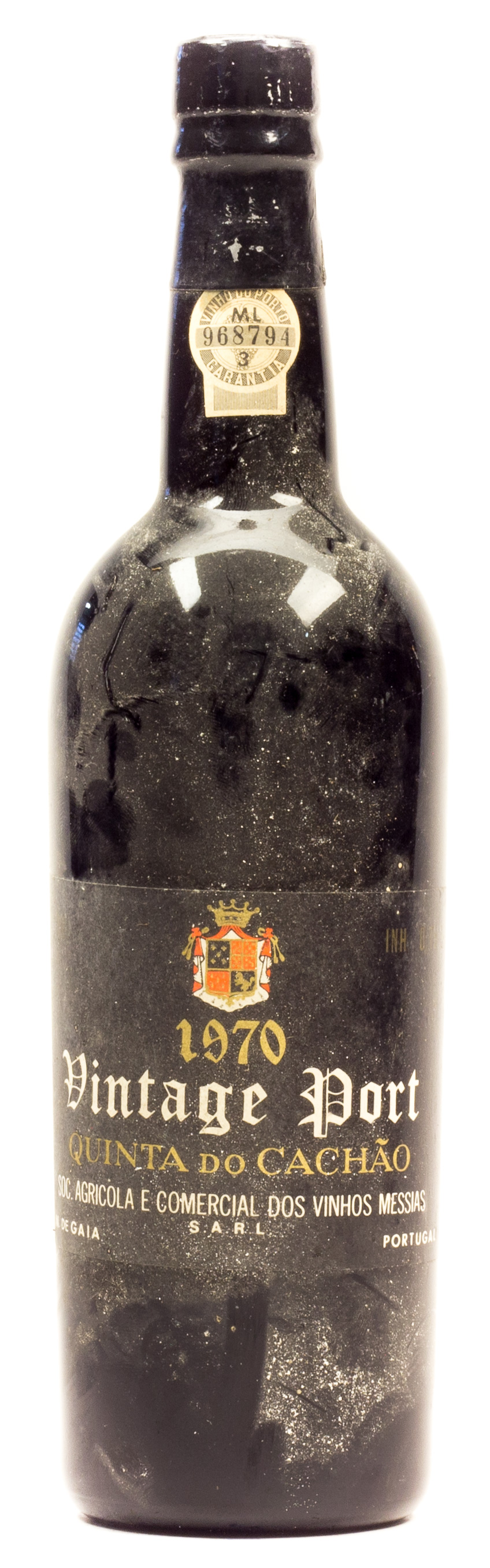 Vintage Port 1970 Quinta Do Cachao 0,75 l