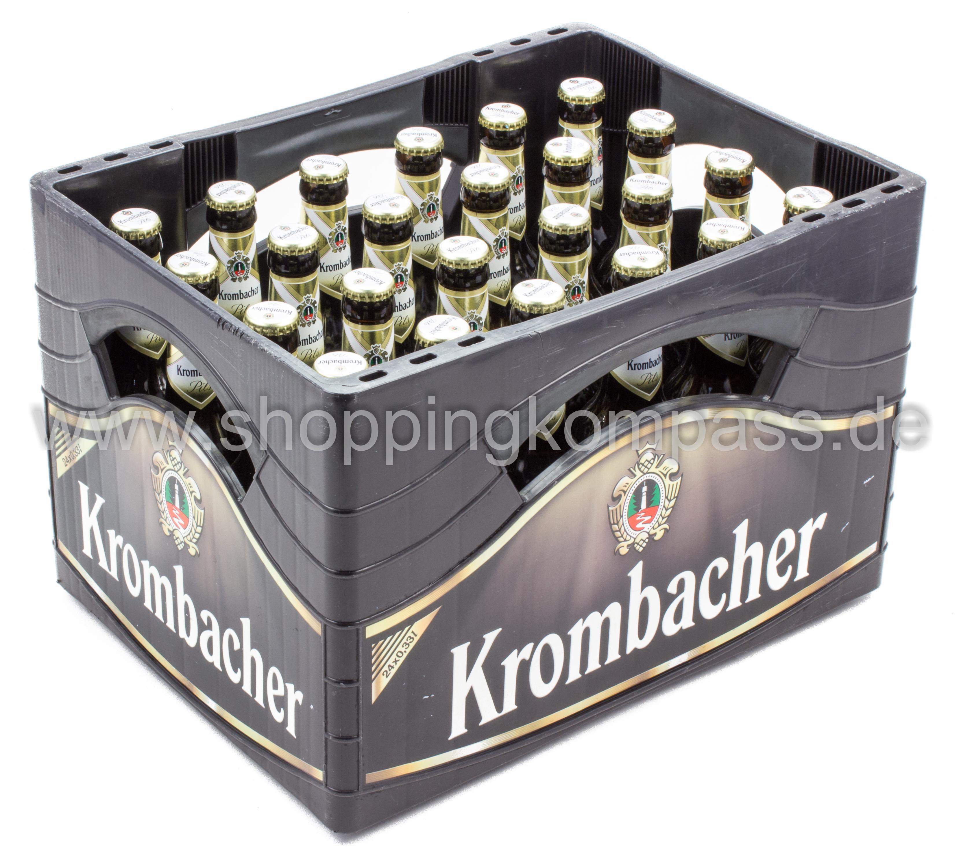 Krombacher Pils Kasten 24 X 033 L Glas Mehrweg