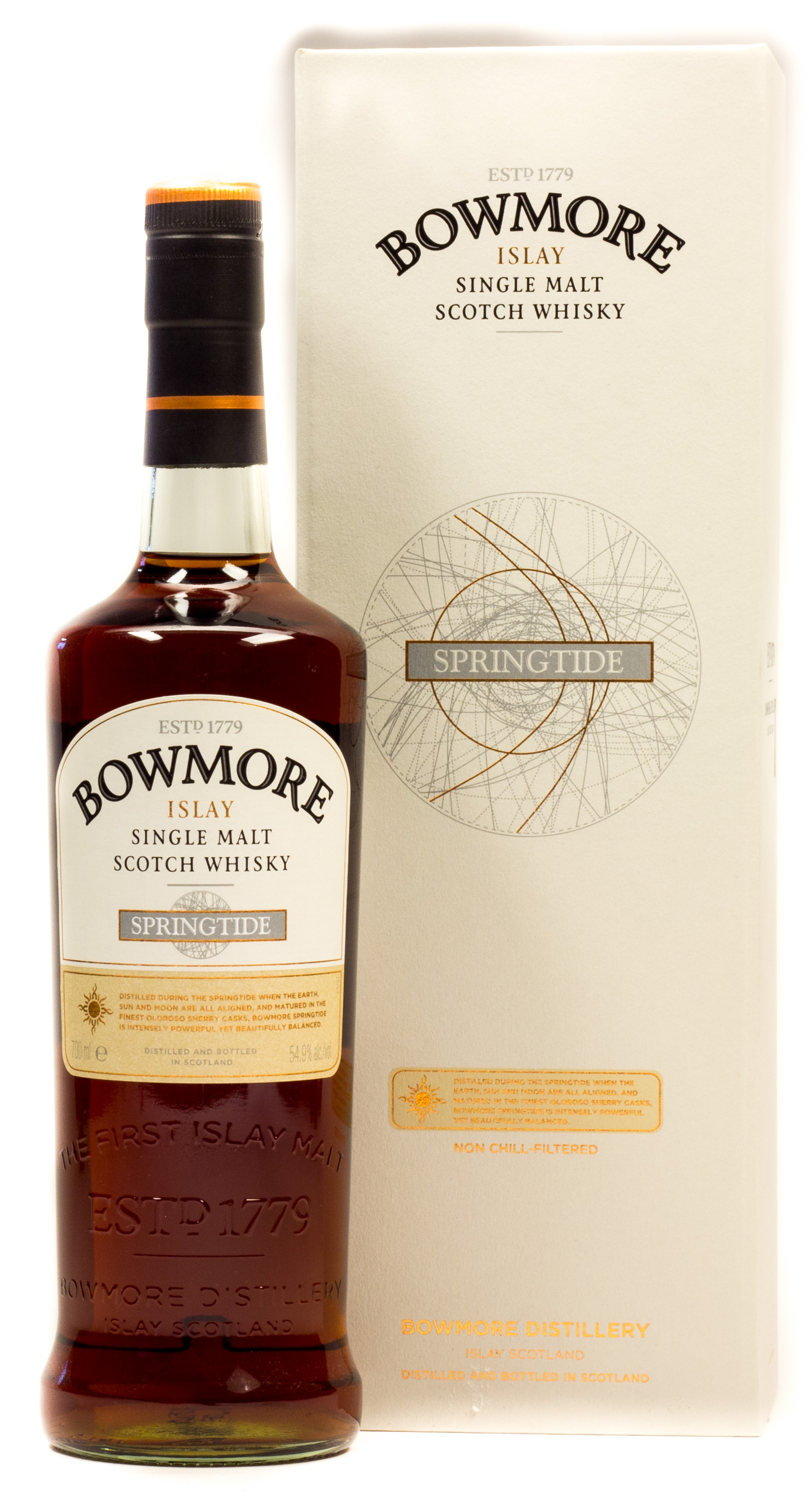 Bowmore Islay Single Malt Scotch Whisky Springtide 0,7 l