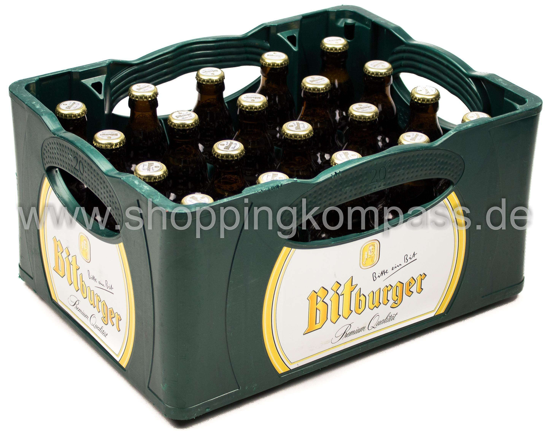 Bitburger Pils Steini Kasten 20 X 033 L Glas Mehrweg