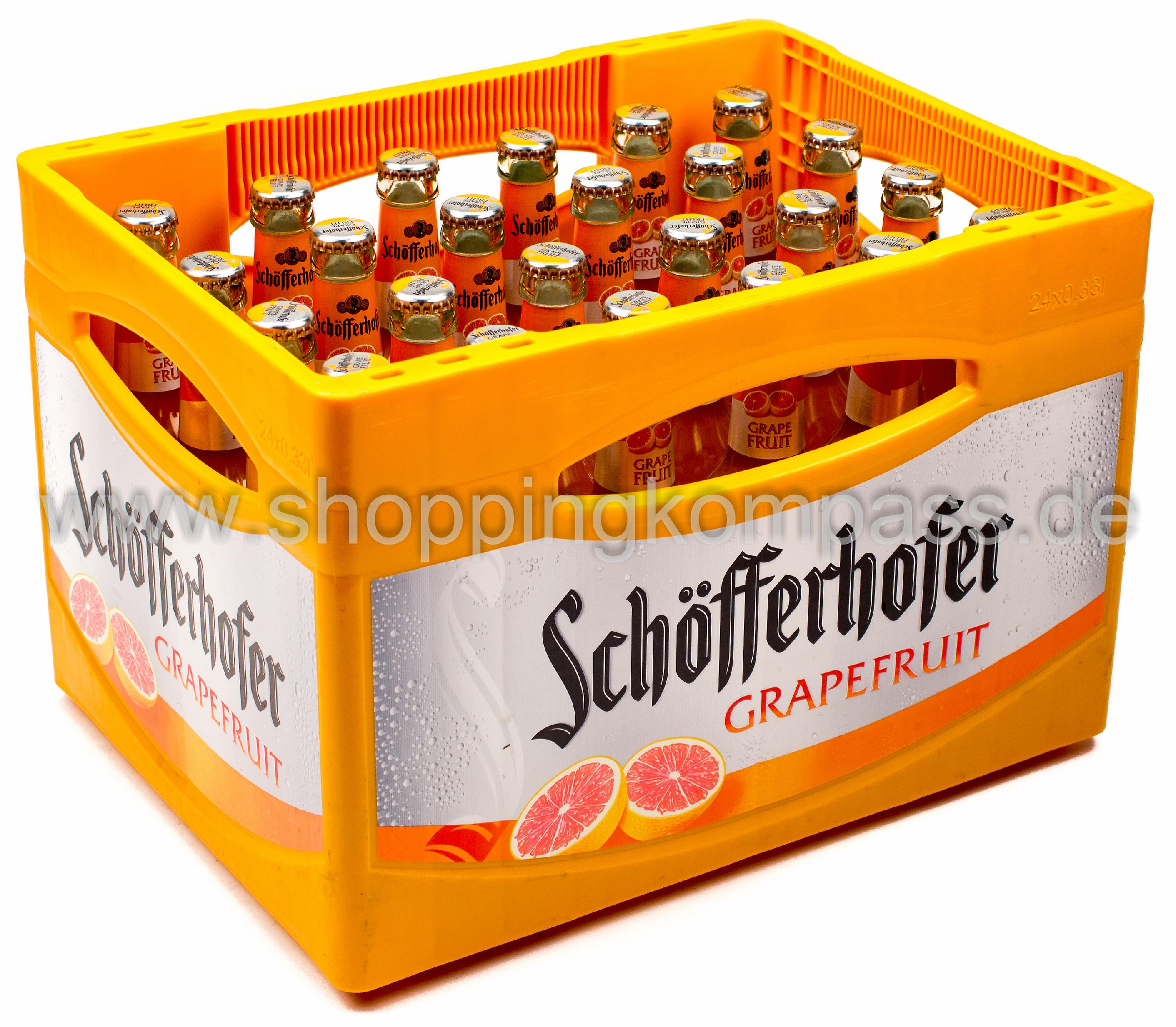 Schöfferhofer Grapefruit Kasten 24 X 033 L Glas Mehrweg