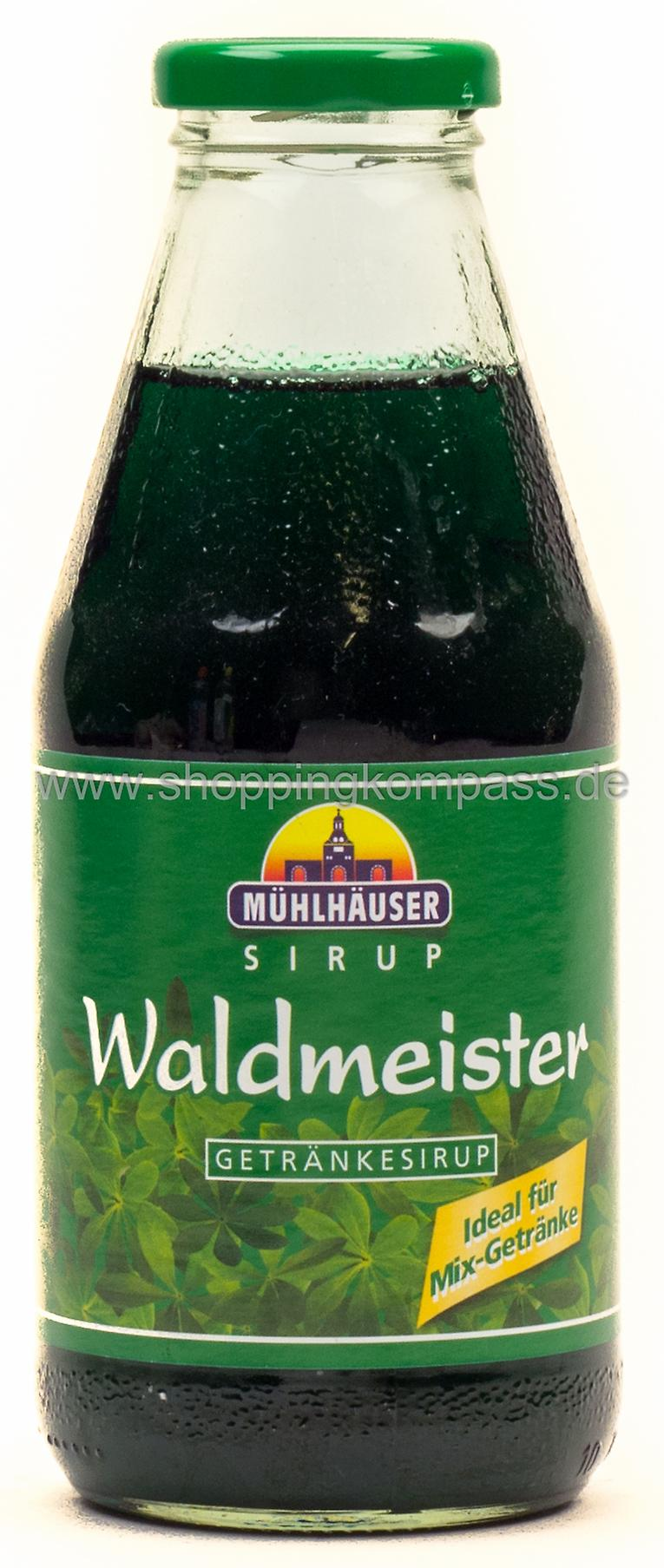 Sirup - Mühlhäuser Getränkesirup Waldmeister 0,5 l Glas - Ihr ...