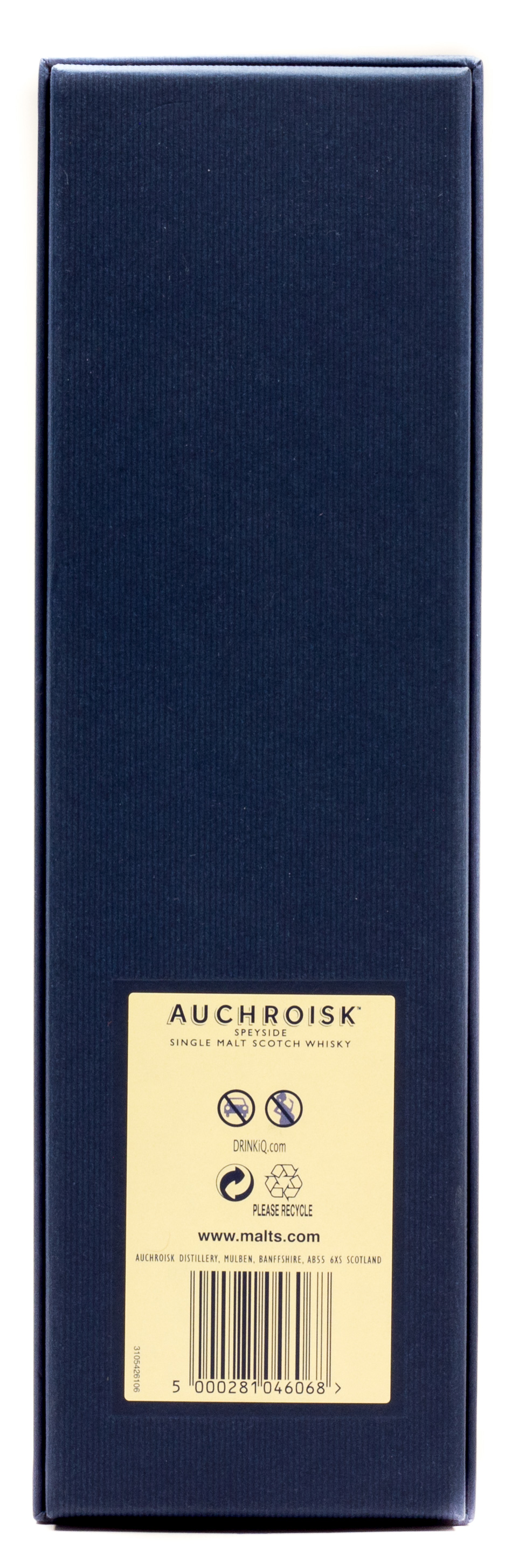 Auchroisk Speyside Single Malt Scotch Whisky Natural Cask Strength 25 years 0,7 l