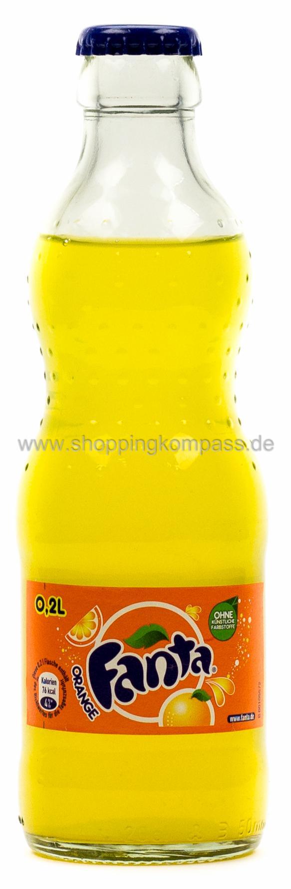 limonade fanta orange 0 2 l glas mw ihr zuverl ssiger. Black Bedroom Furniture Sets. Home Design Ideas
