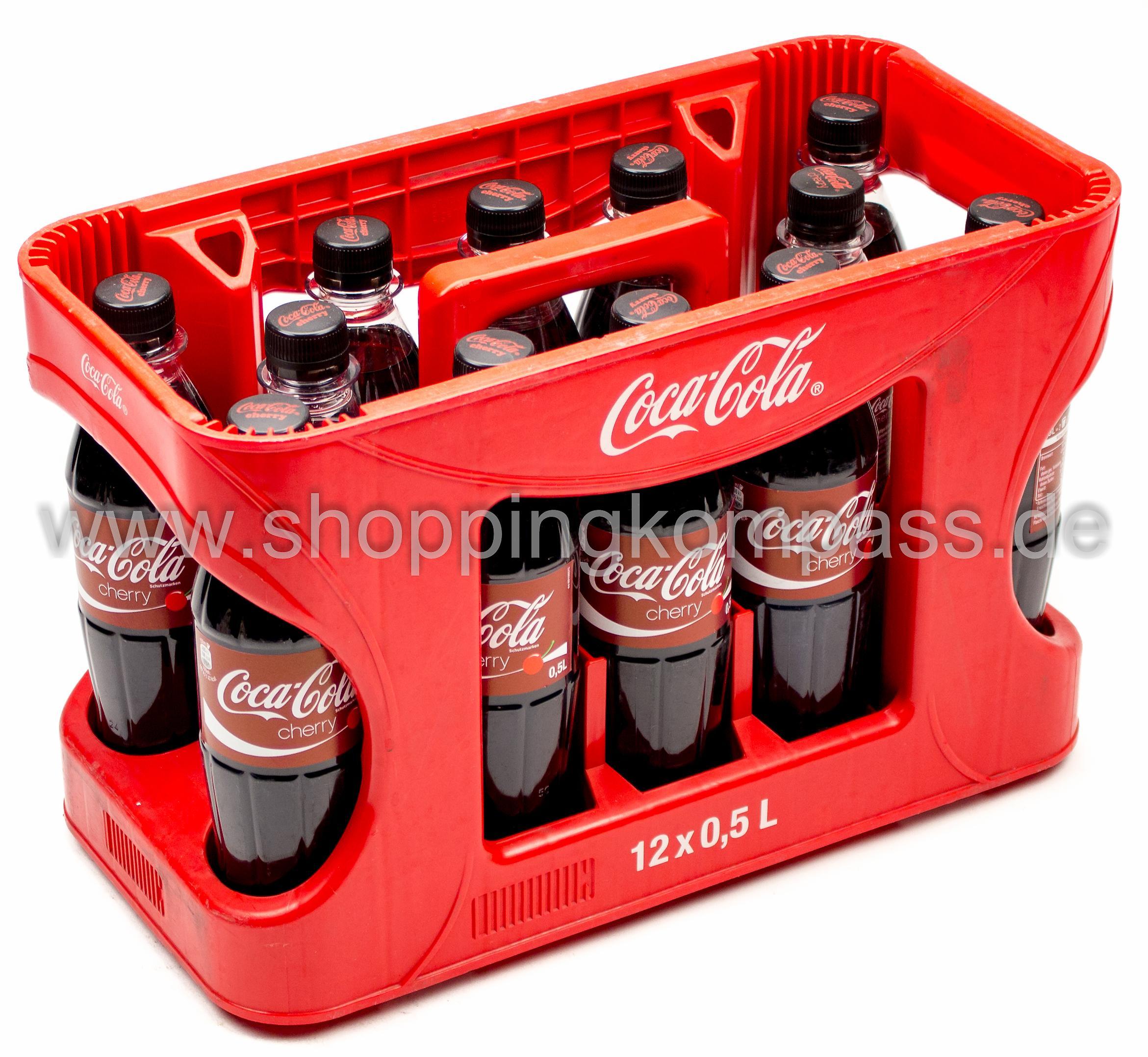 Coca Cola Cherry Kasten 12 X 05 L Pet Mehrweg