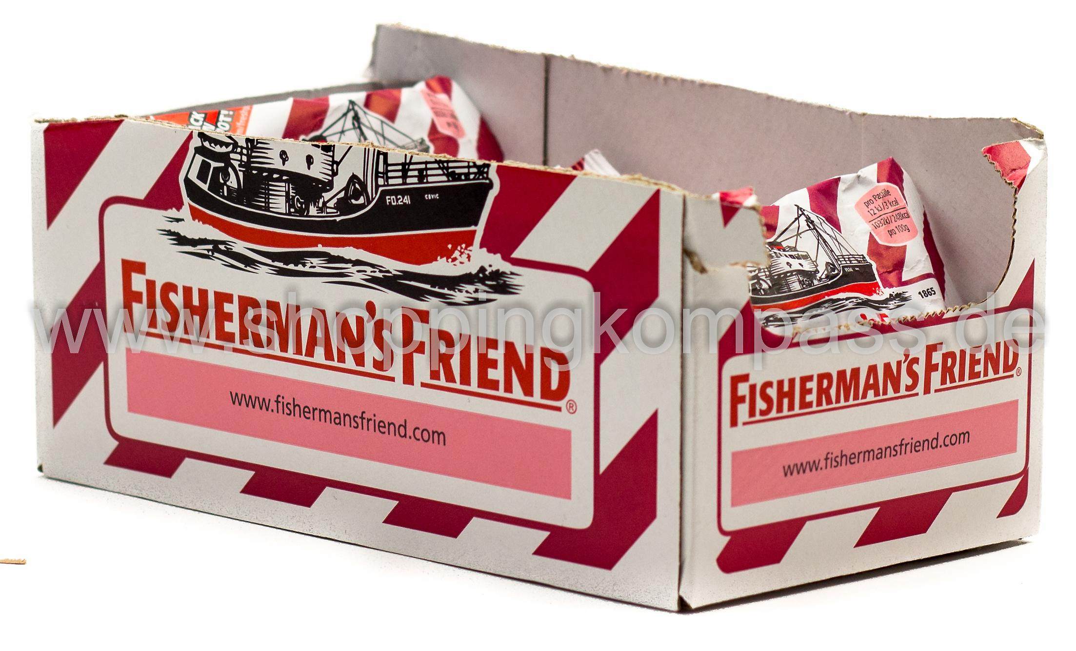 Fisherman's Friend Cherry Karton 24 x 25 g