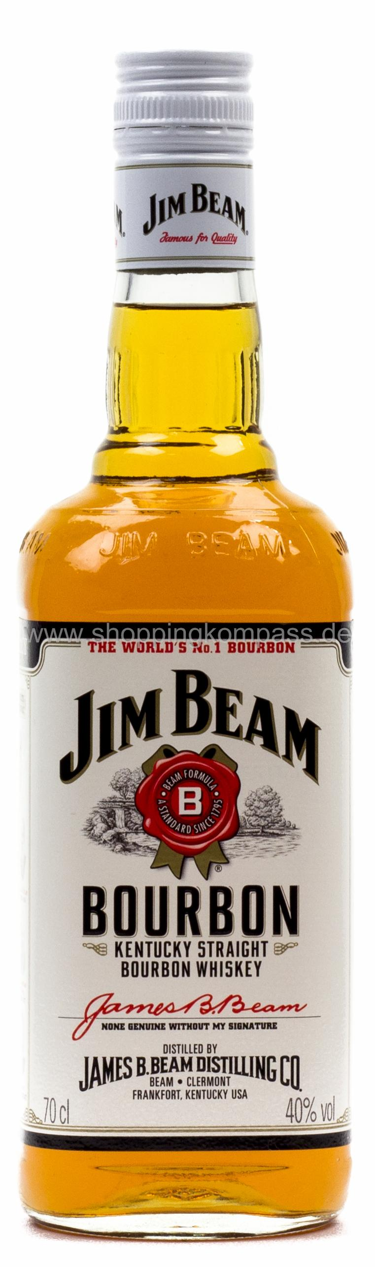 Jim Beam Kentucky Straight Bourbon Whiskey 0,7 l