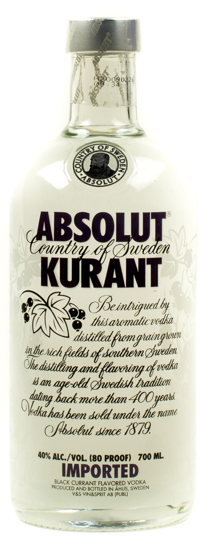 Absolut Vodka Imported Kurant 0,7 l