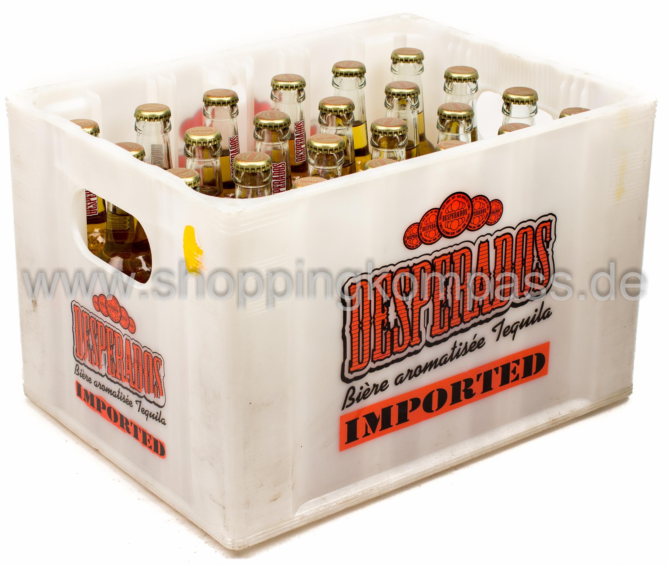Desperados Tequila Bier Kasten 24 X 033 L Glas Mehrweg