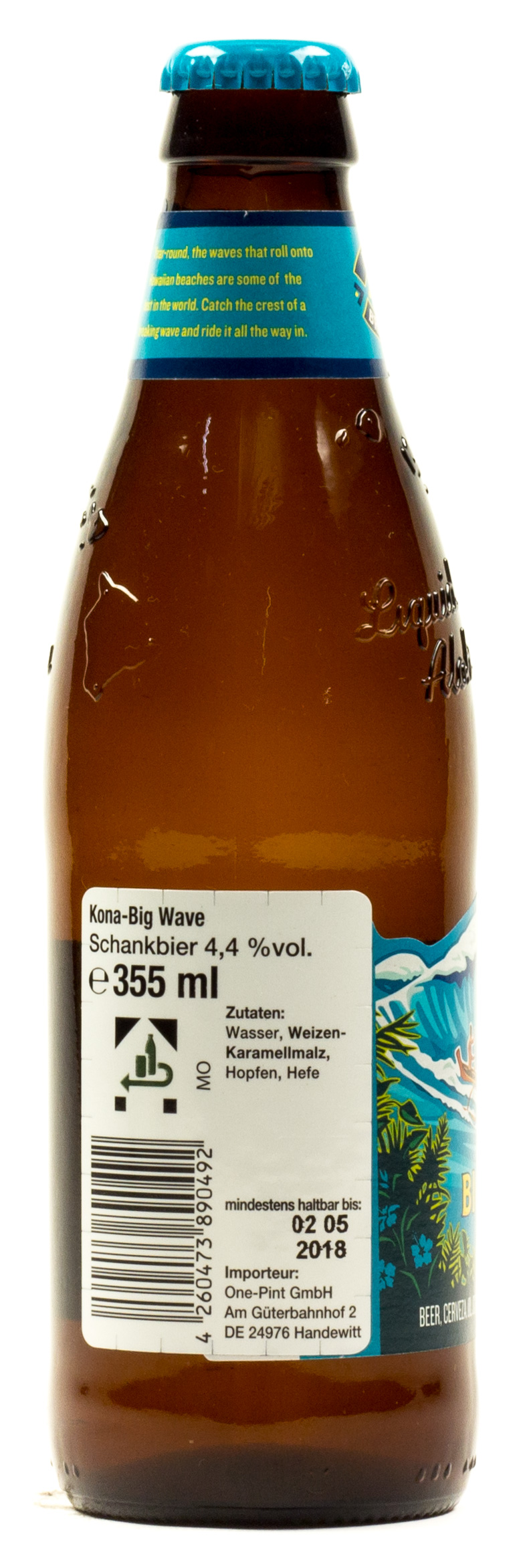 Kona Big Wave 0,33 l Glas Mehrweg