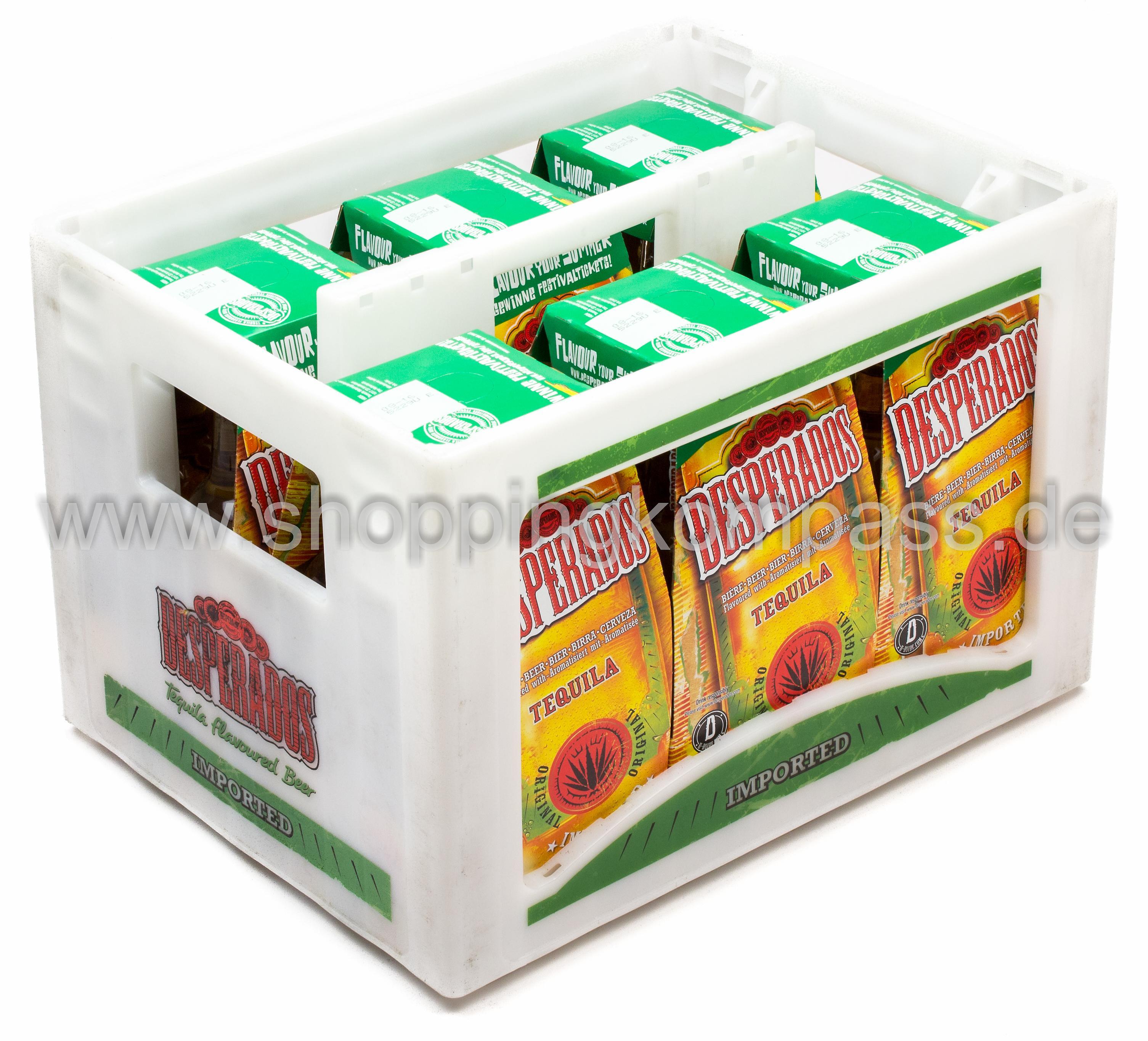 Desperados Tequila Bier Kasten 6 X 4 X 033 L Glas Mehrweg