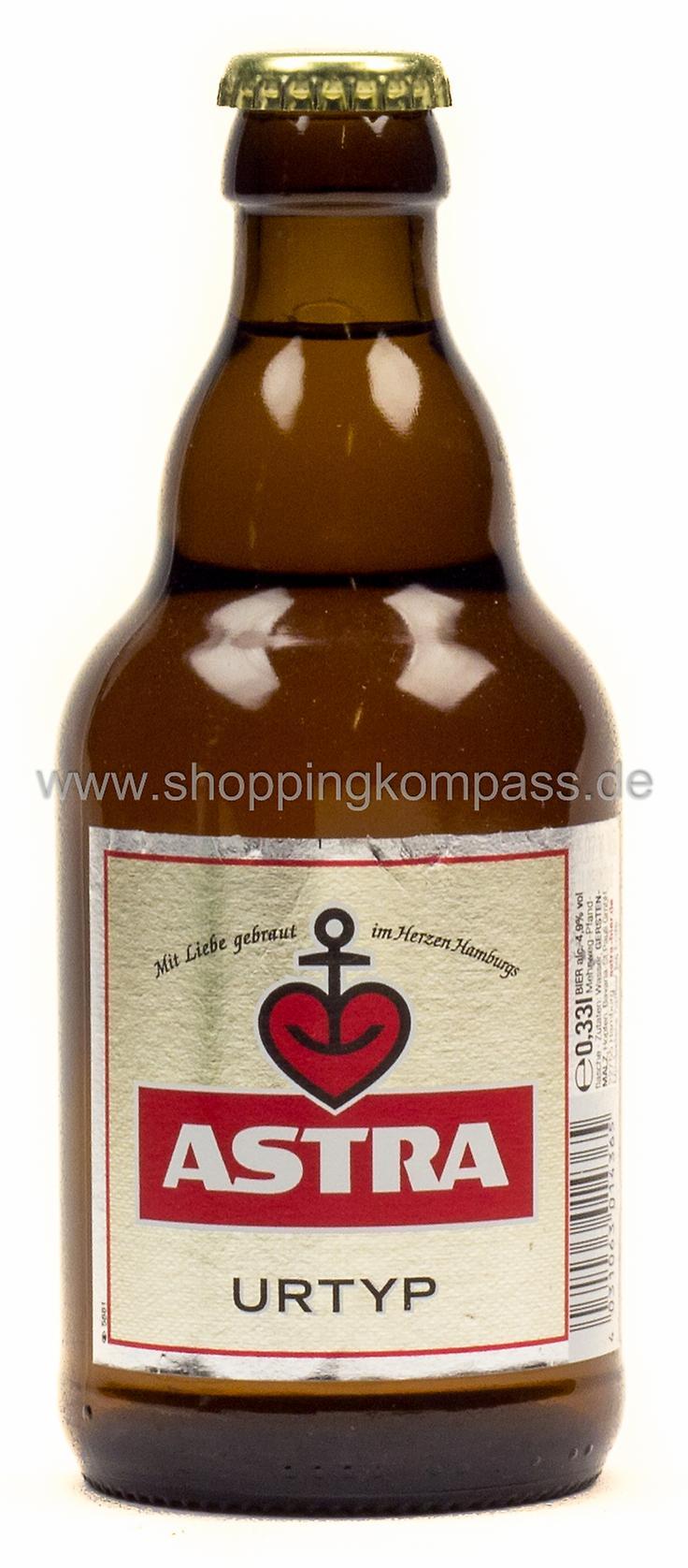 Astra Urtyp Pils Steini 0,33 l Glas Mehrweg