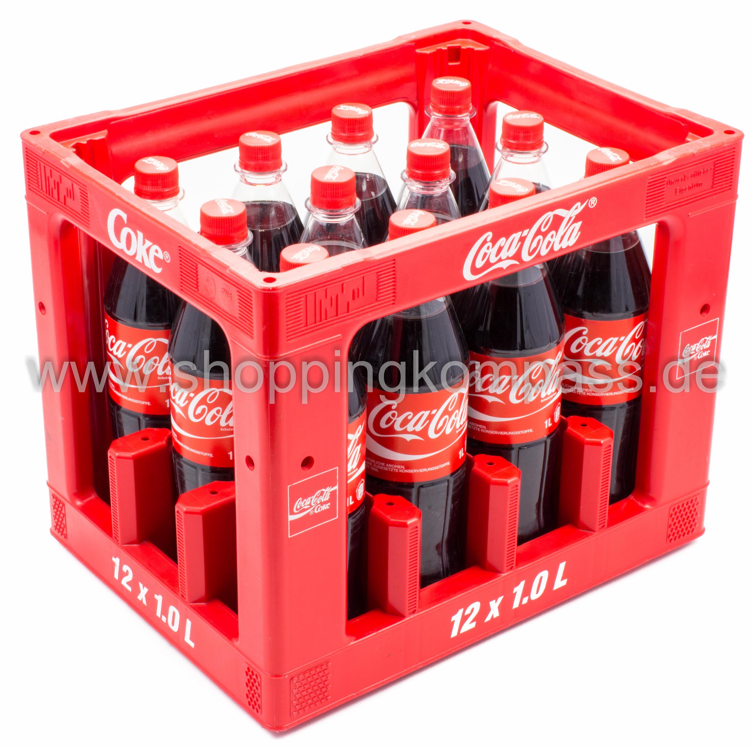 Coca Cola Kasten 12 X 1 L Pet Mehrweg