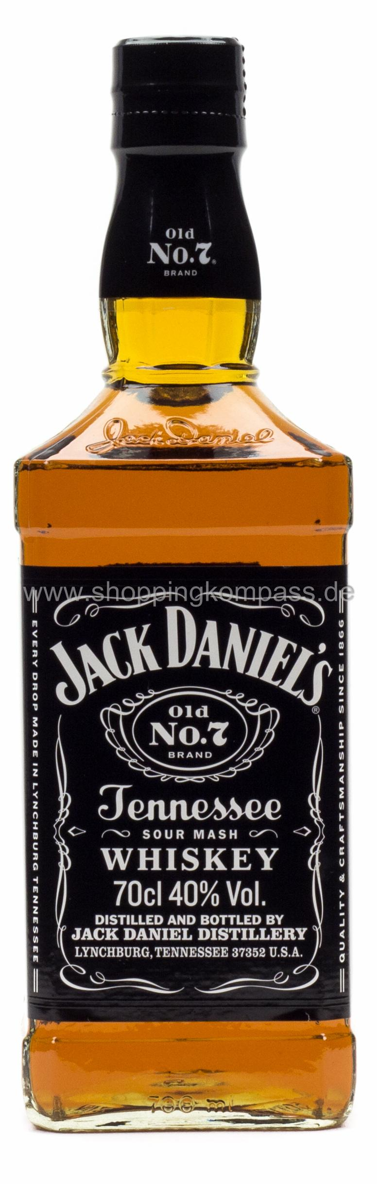 Jack Daniel's Tennessee Whiskey Old No.7 0,7 l