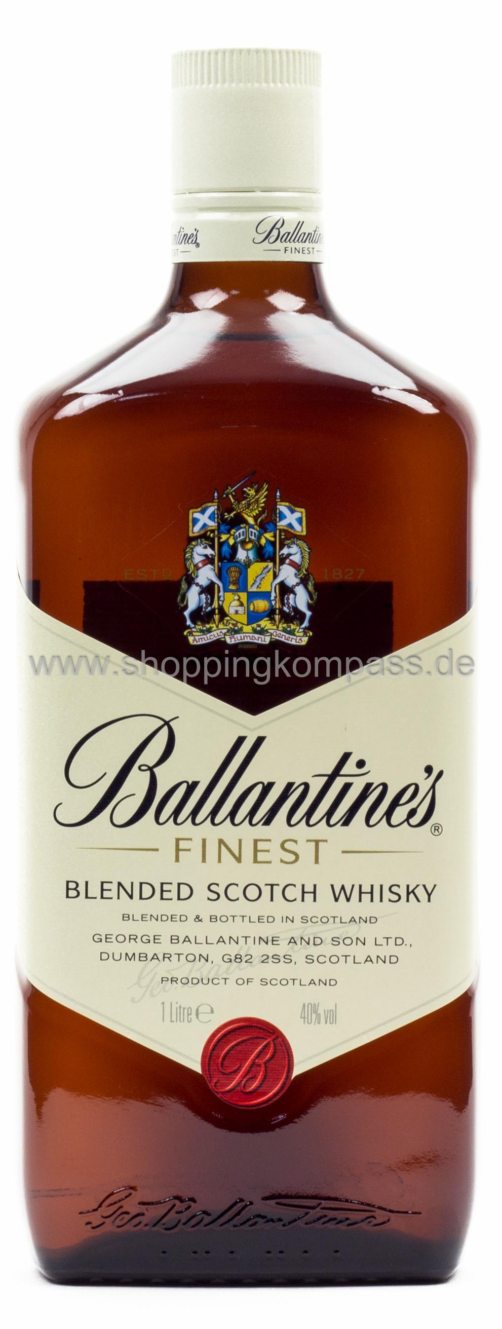 Ballantine´s Blended Scotch Whisky 1 l