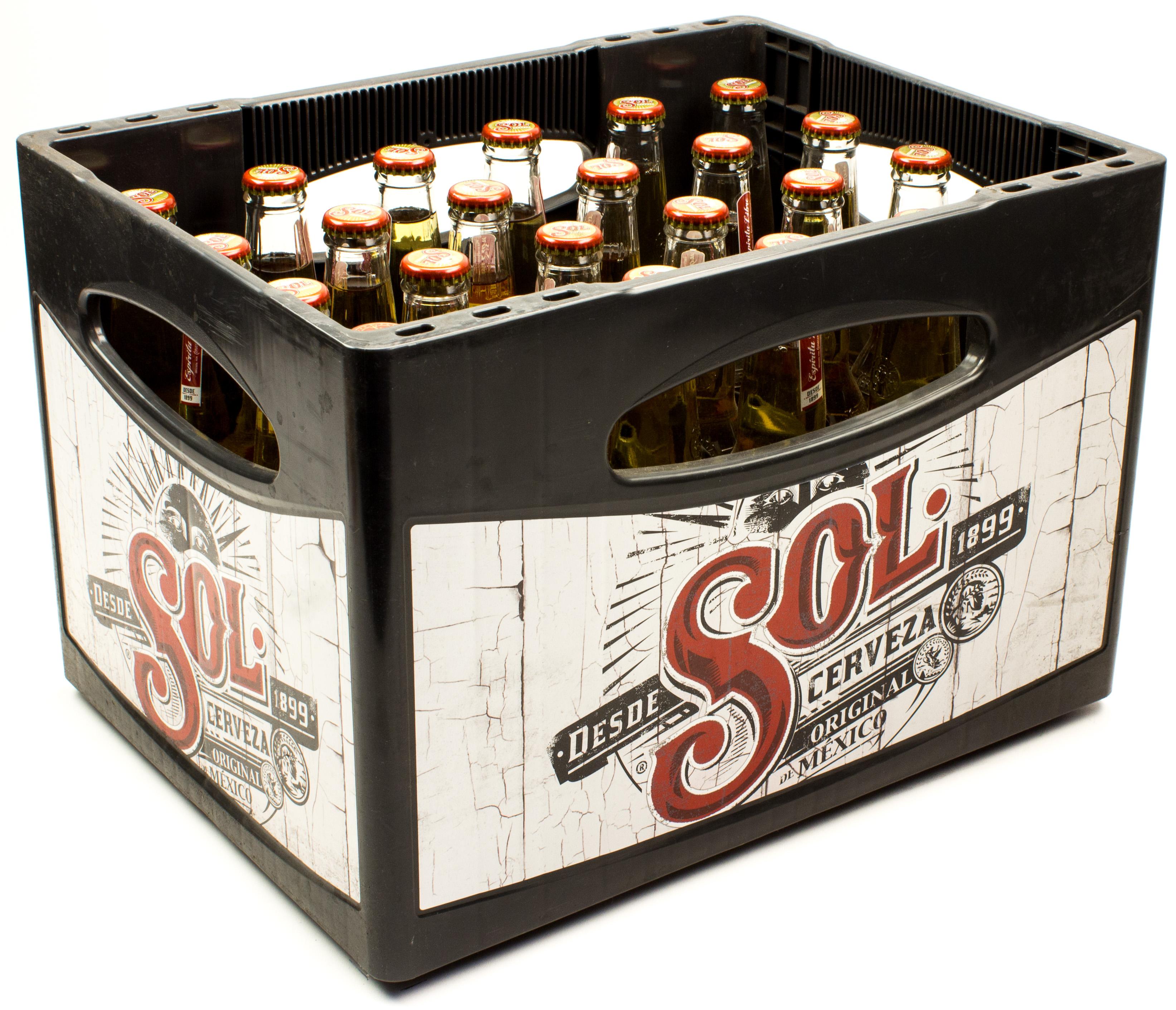 Sol Cerveza Kasten 24 X 033 L Glas Mehrweg