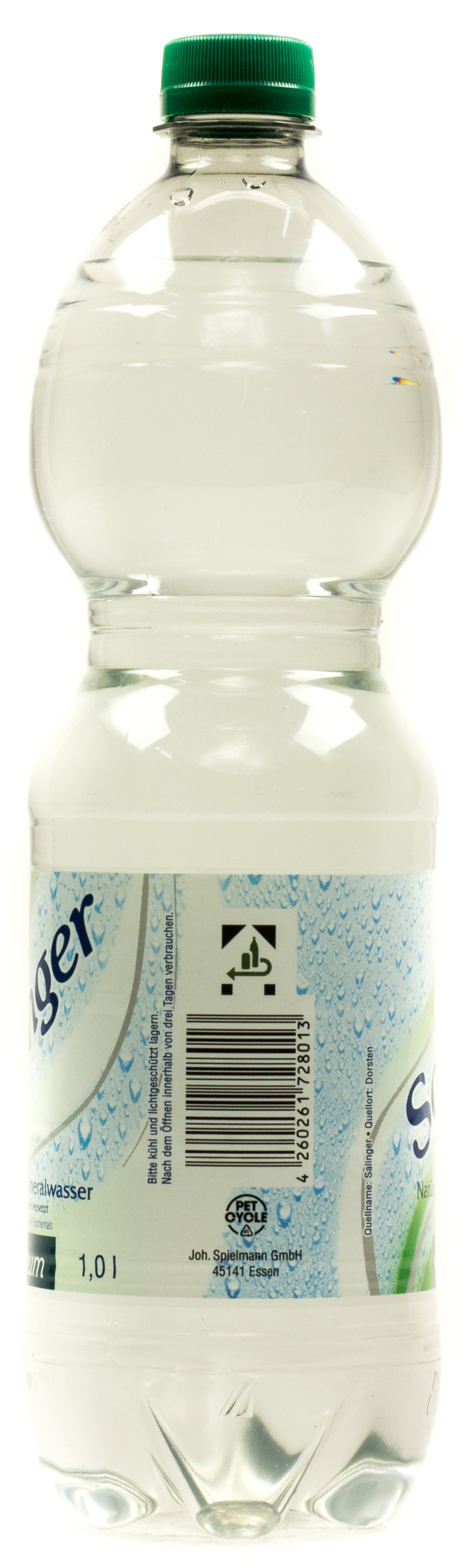 Salinger Mineralwasser Medium 1 l PET Einweg