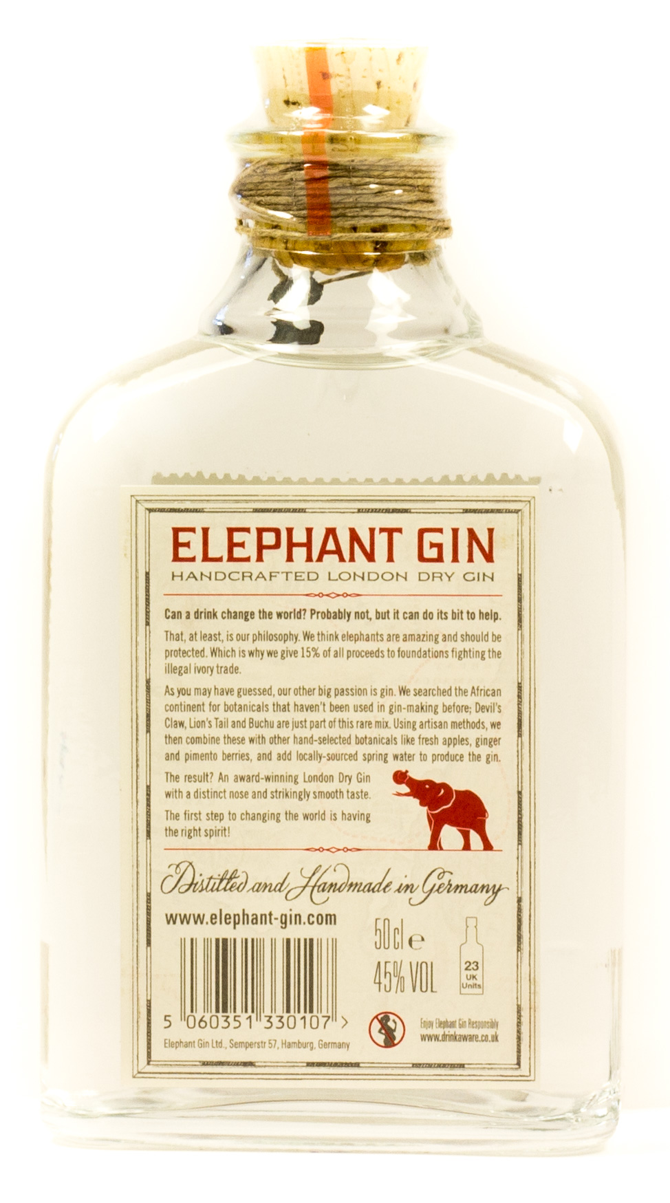 Elephant London Dry Gin Machachule 0,5 l