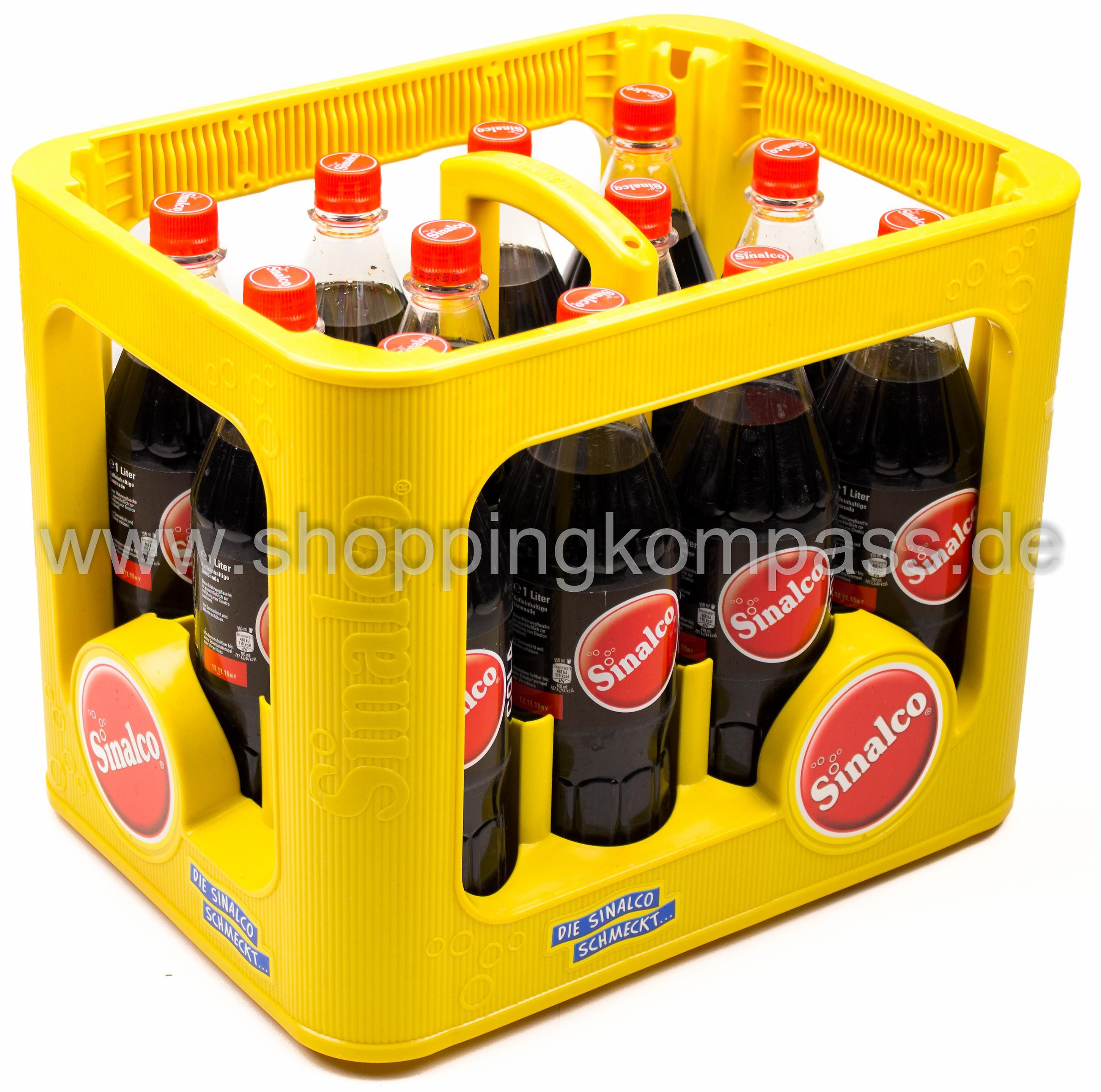Sinalco Cola Kasten 12 x 1 l PET MW