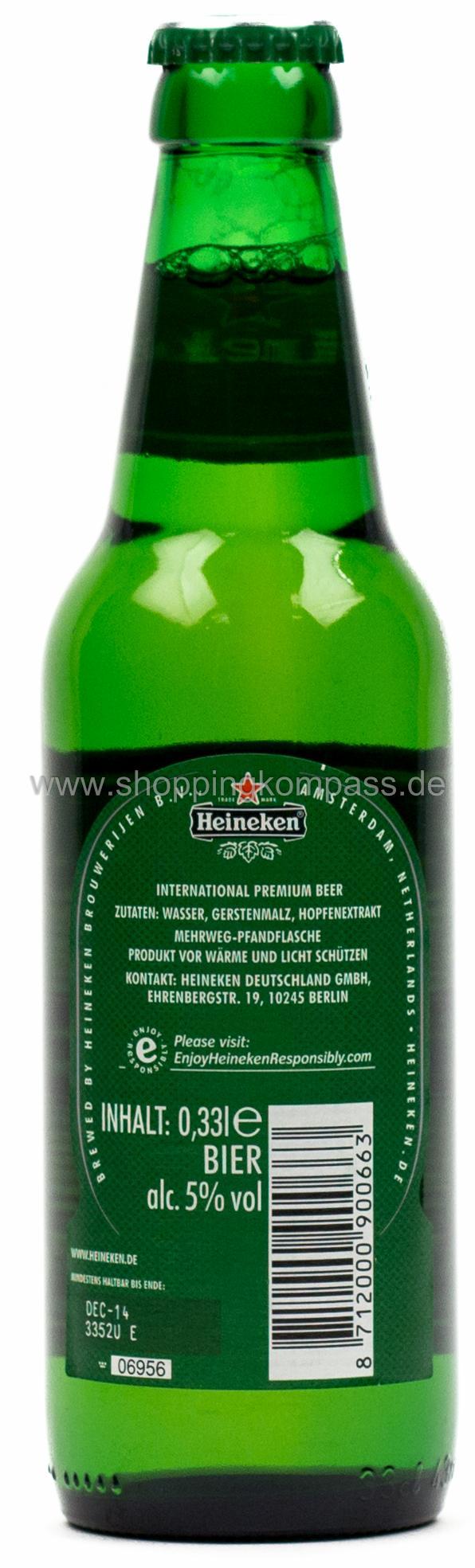 Pils Export Heineken 033 L Glas Mw Ihr Zuverlässiger