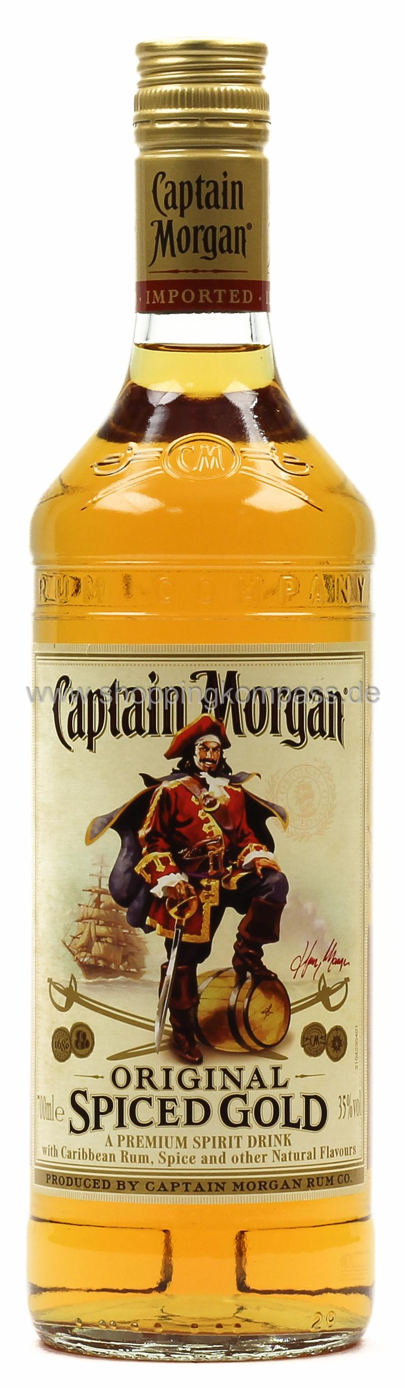 Captain Morgan Rum 0,7 l