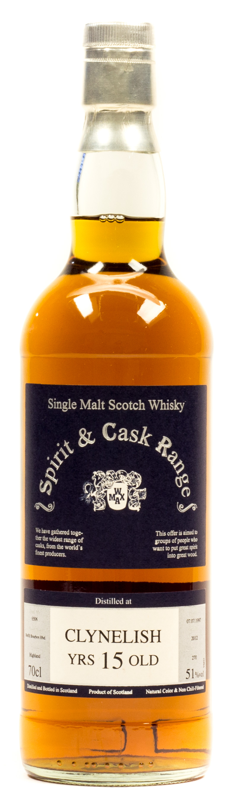 Clynelish 15 Years (Spirit & Cask Range) Single Malt Scotch Whisky 0,7 l