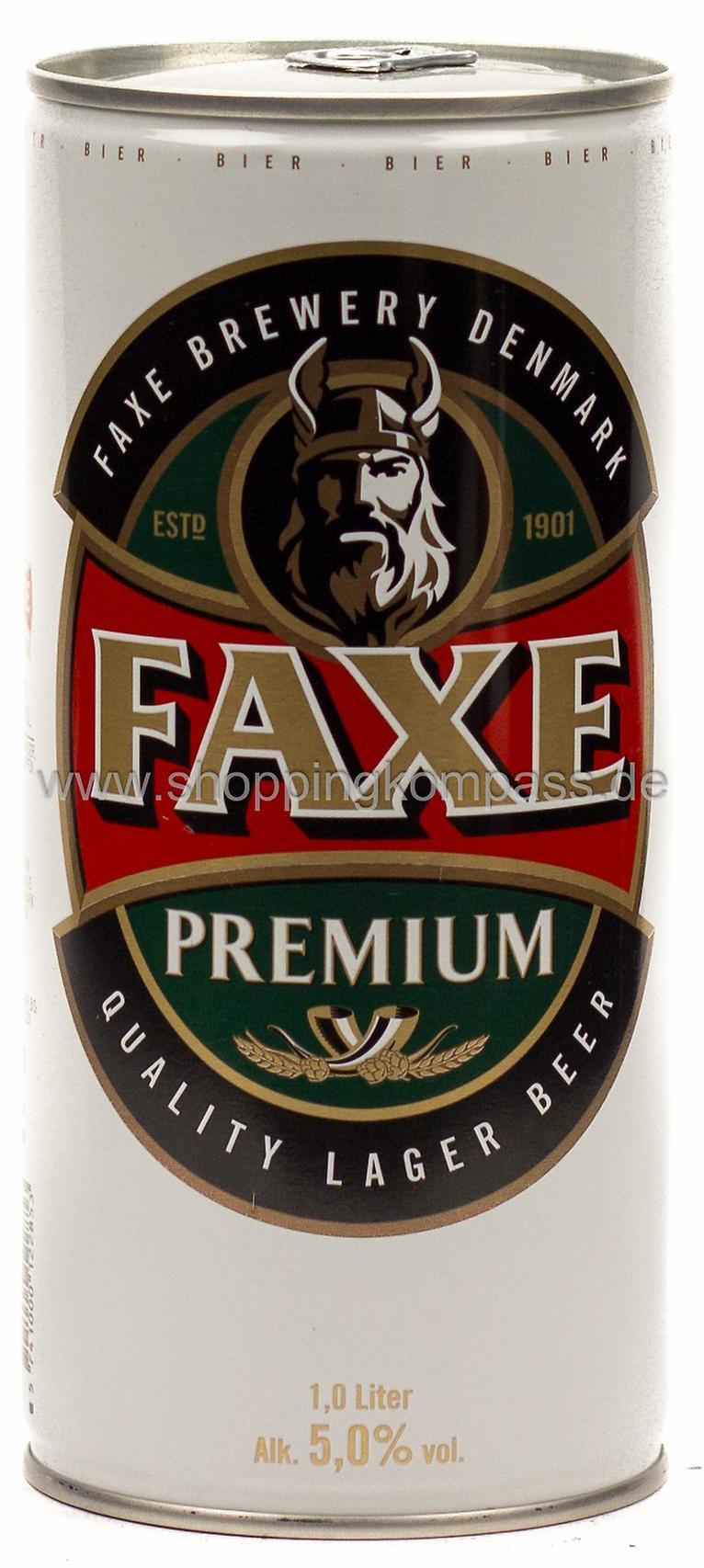 Faxe Premium 1 L Dose Einweg