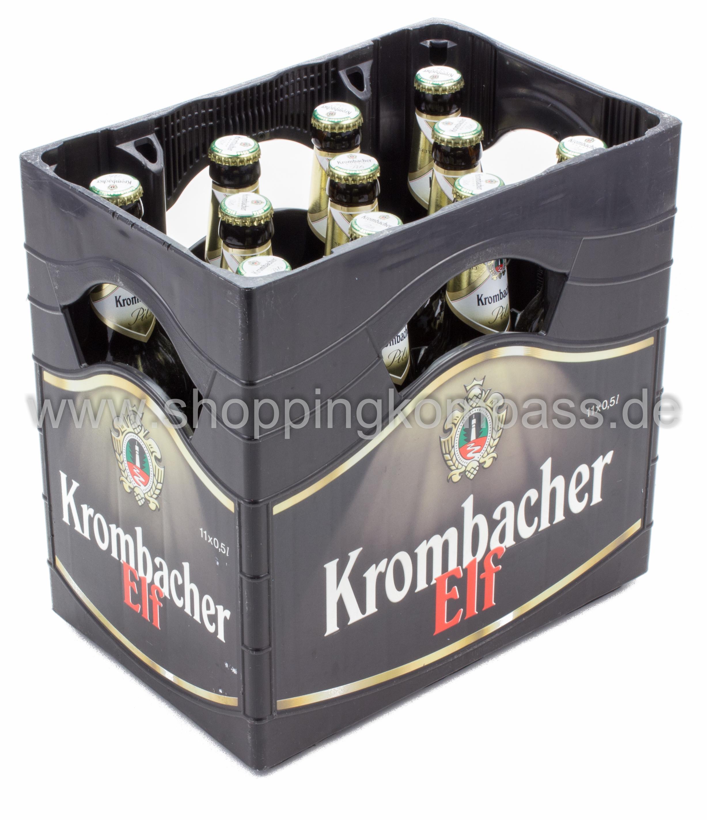 Krombacher Pils Kasten 11 X 05 L Glas Mehrweg
