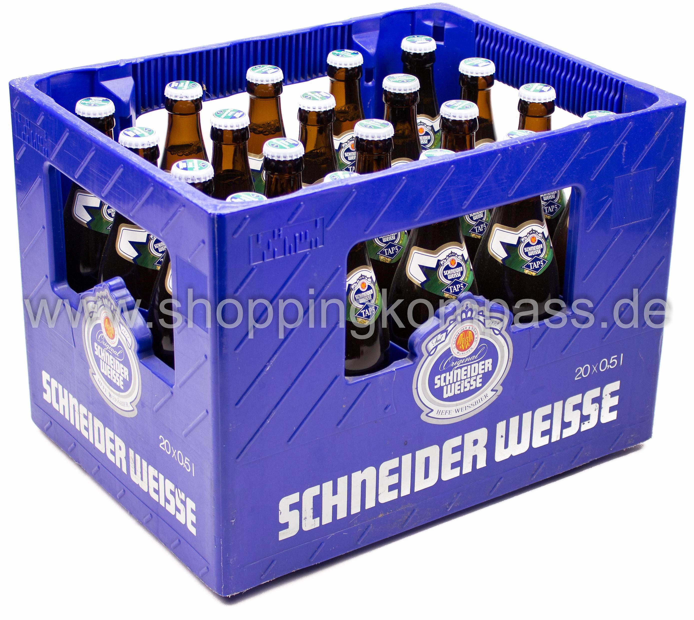 Weizenbiere - Schneider Weisse Hopfenweisse Tap 5 Kasten 20 x 0,5 l ...