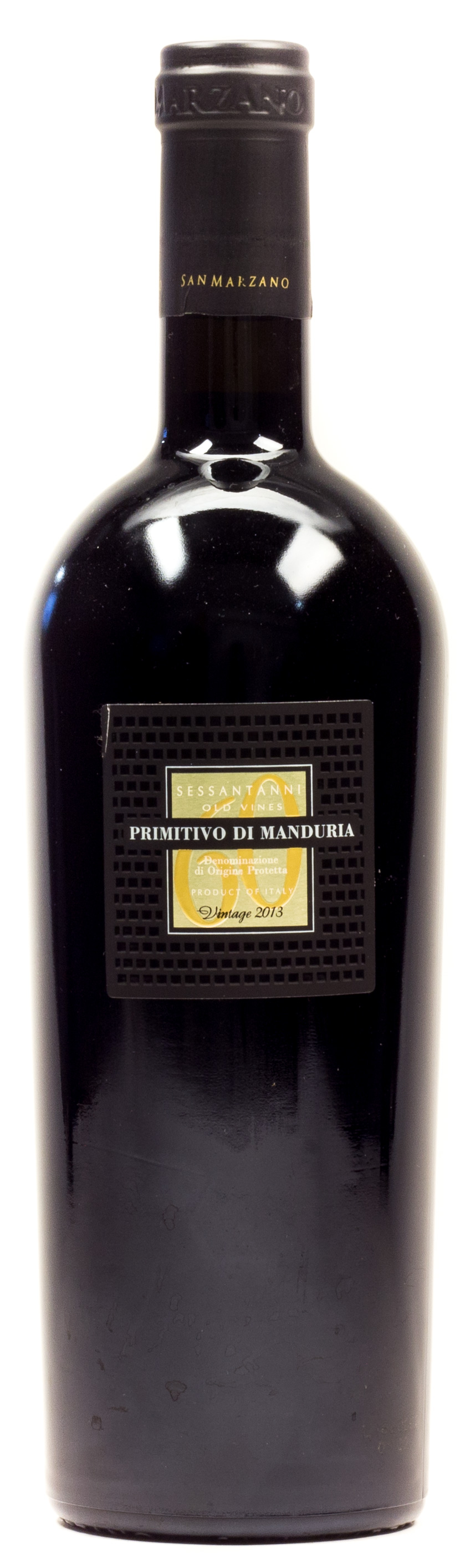 Sessantanni Old Vines Primitivo 0,75 l Glas