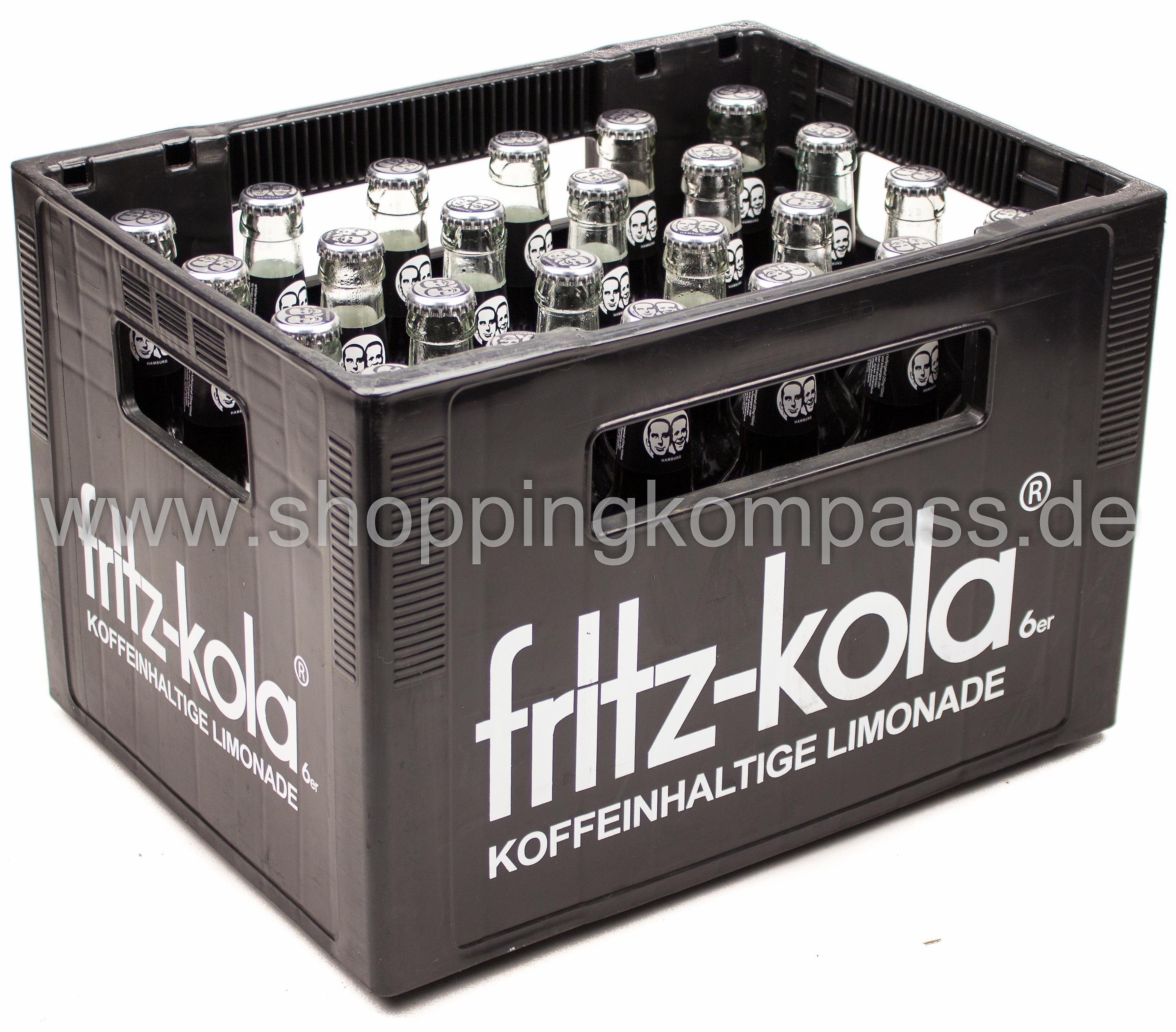 Fritz Kola Kasten 24 X 033 L Glas Mehrweg