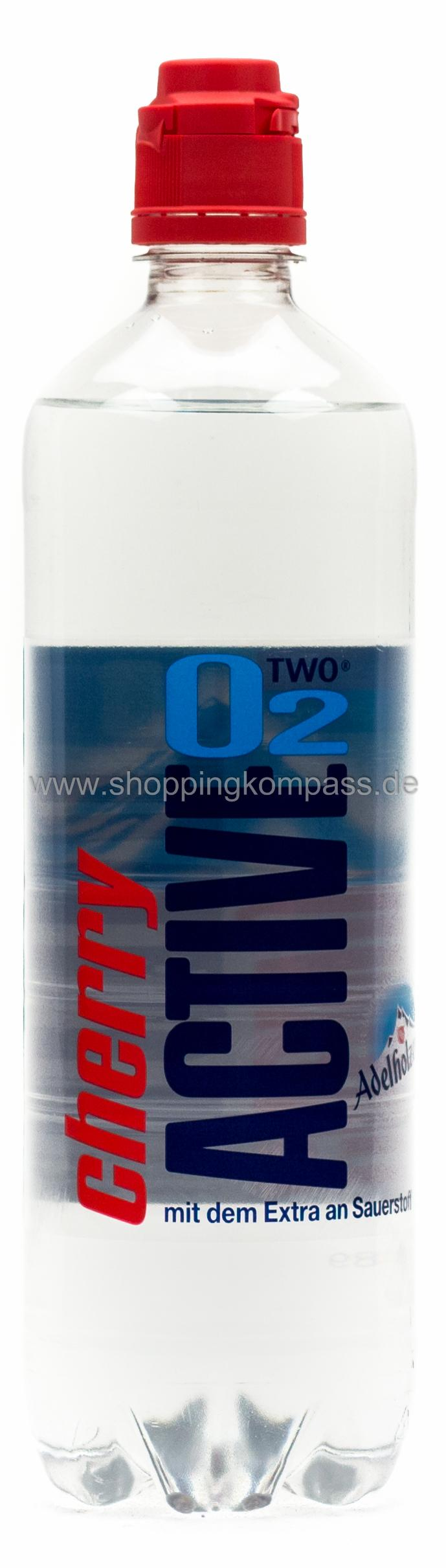 Active O2 Cherry 0,75 l PET Einweg