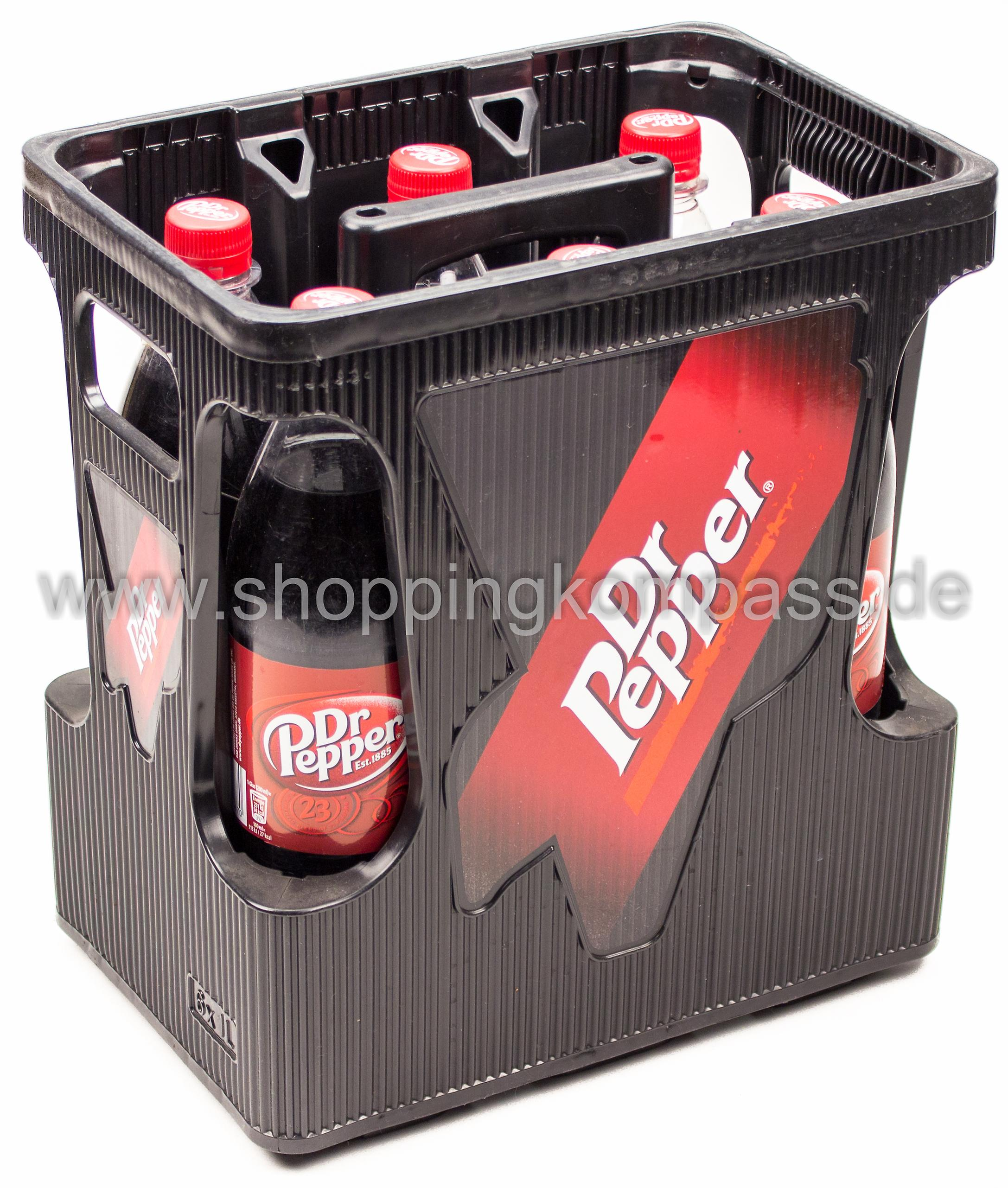 Dr. Pepper Kasten 6 x 1 l PET Mehrweg