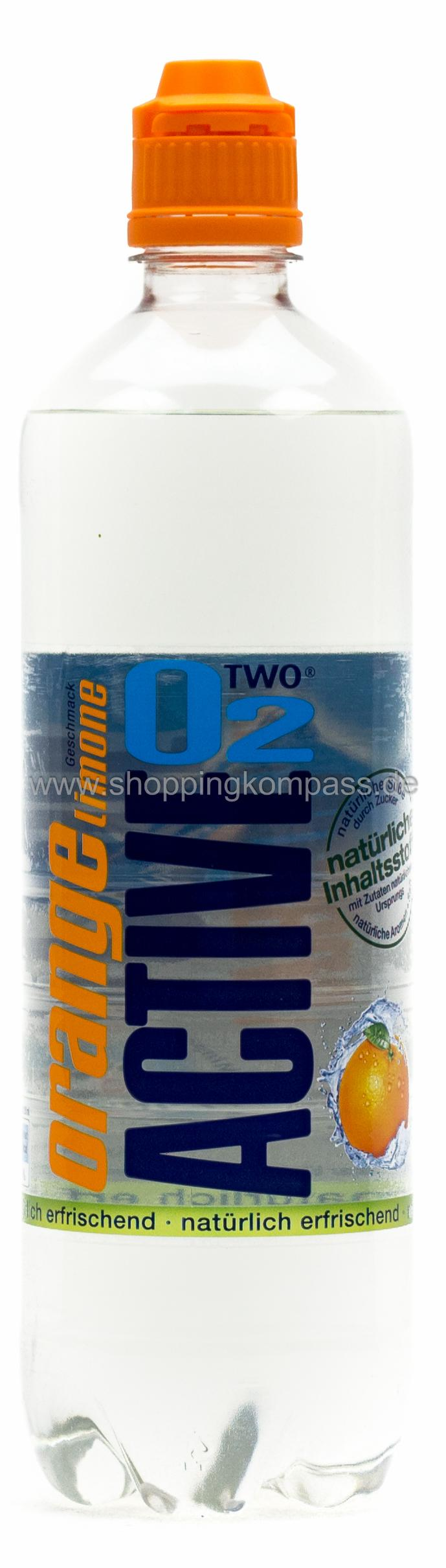 Active O2 Orange Lemon 0,75 l PET Einweg