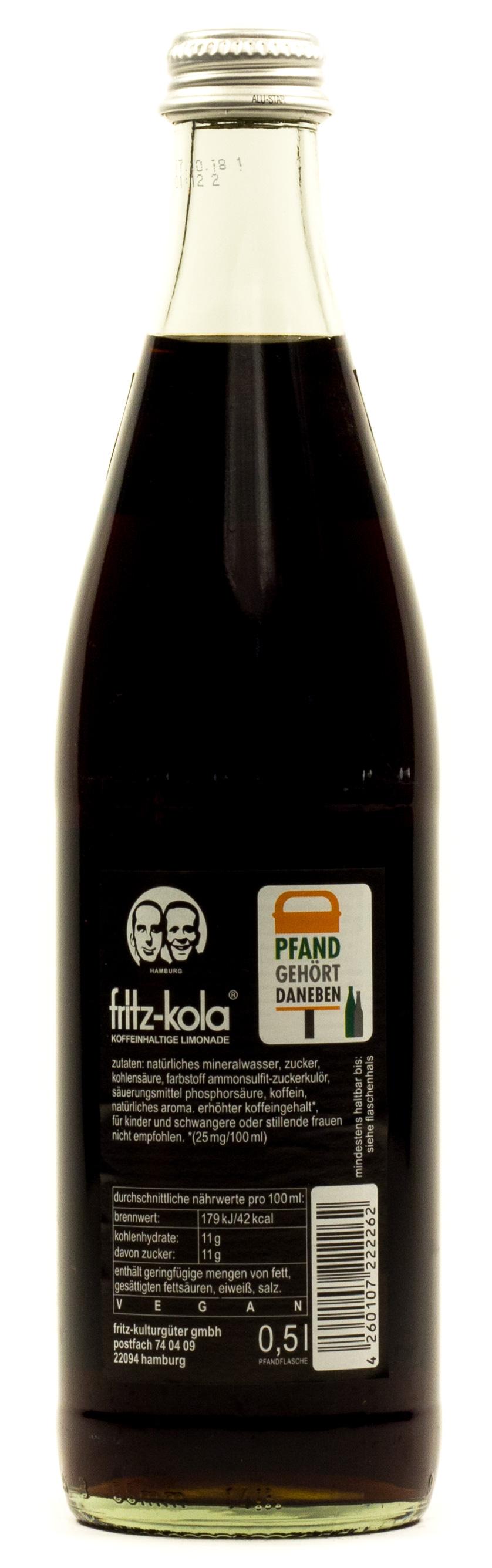 Fritz Kola 05 L Glas Mehrweg