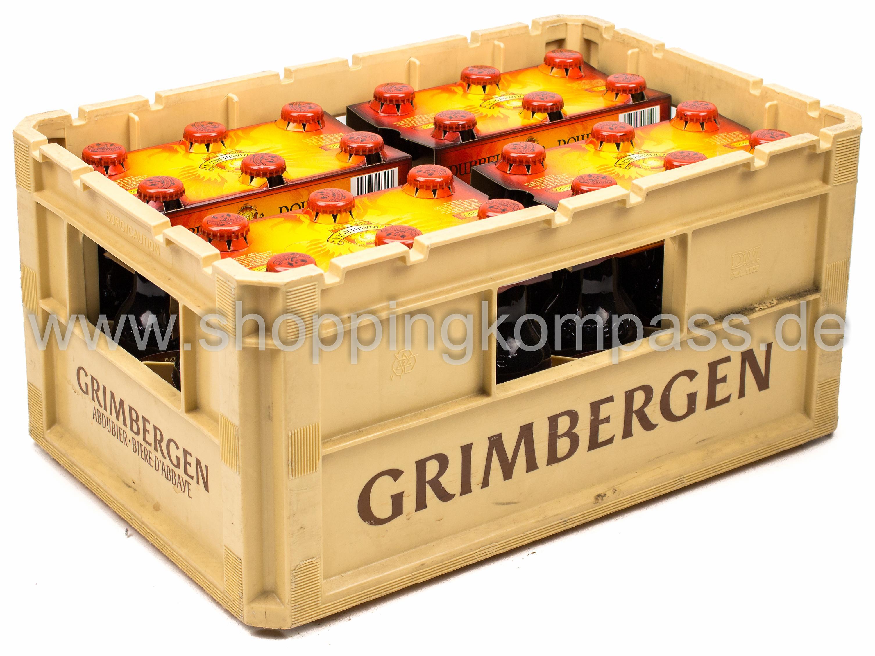 Grimbergen Dubbel Kasten 4 X 6 X 033 L Glas Mehrweg