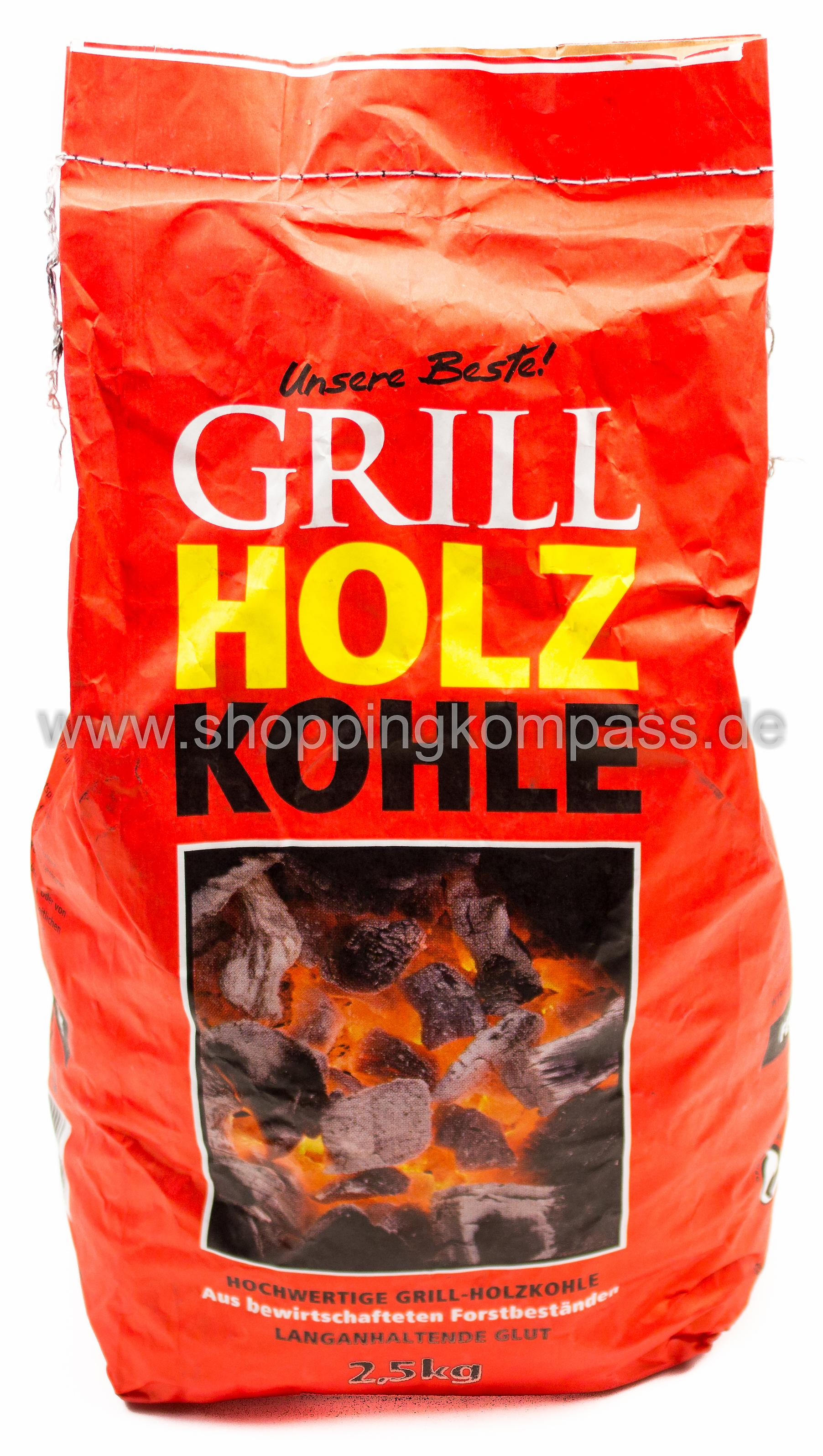Feuer & Flamme Grill Holzkohle 2,5 kg