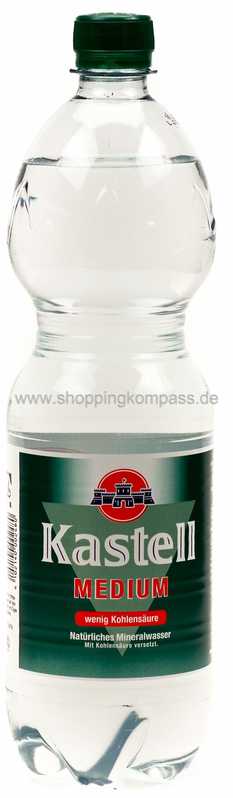 Kastell Mineralwasser Medium 1 l PET Einweg