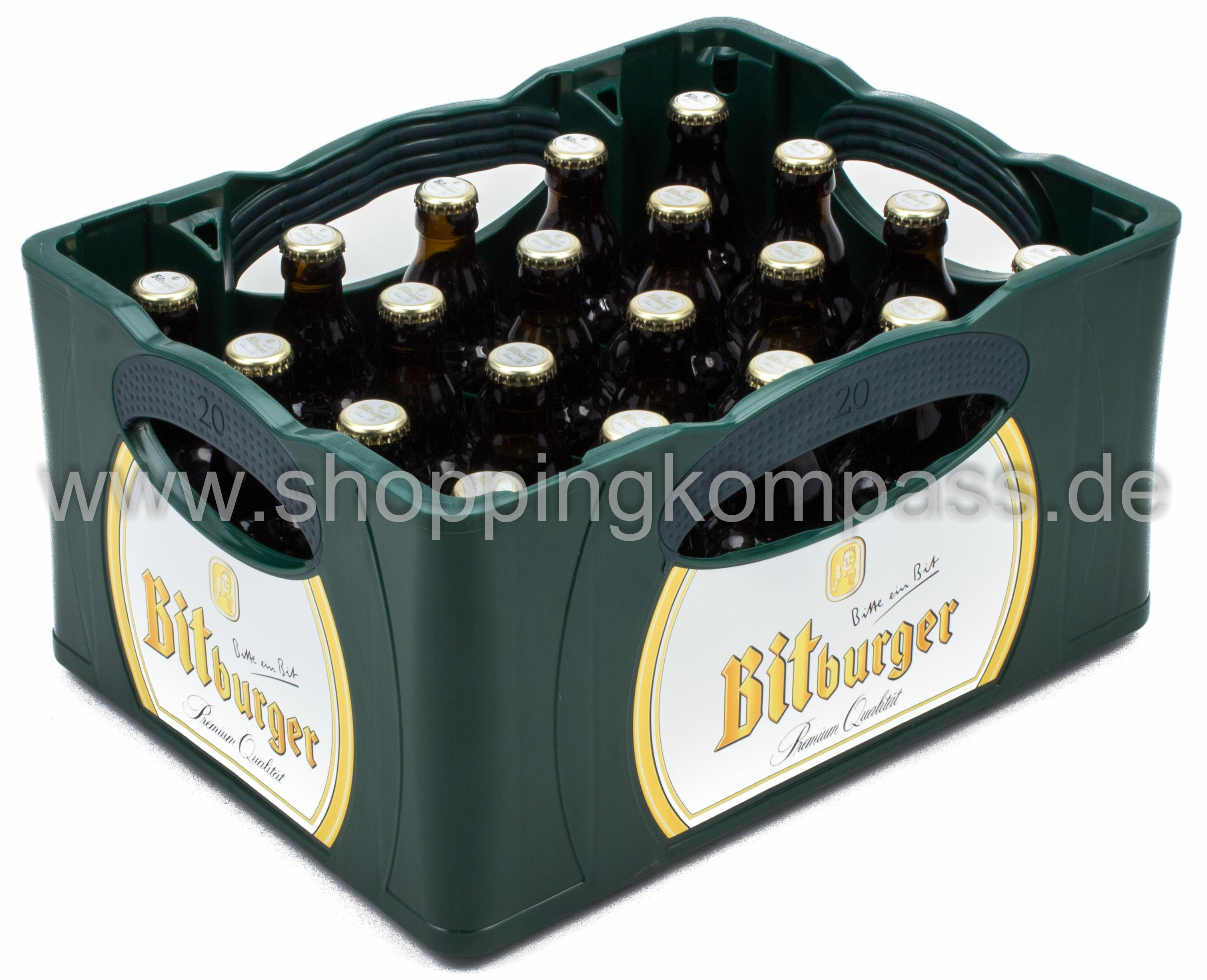 Bitburger Radler Kasten 24 X 033 L Glas Mehrweg