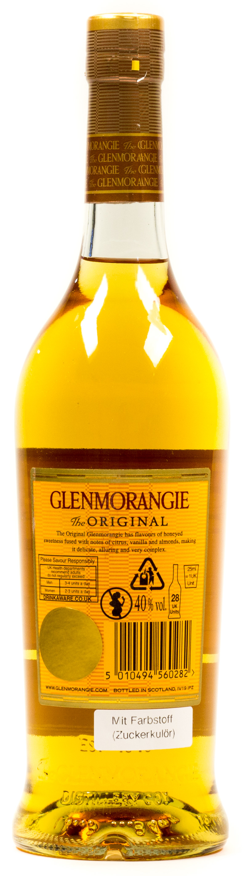 Glenmorangie Highland Single Malt Scotch Whisky 10 years 0,7 l
