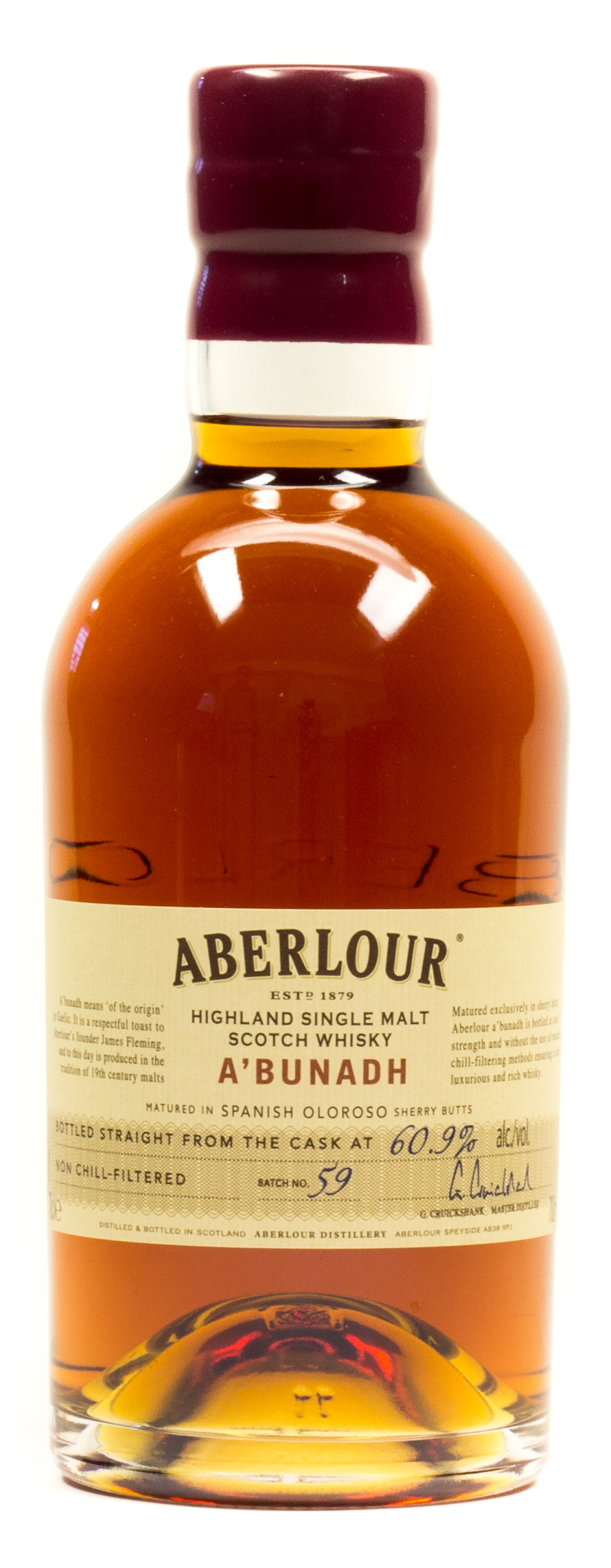 Aberlour Highland Single Malt Scotch Whisky A'Bunadh 0,7 l