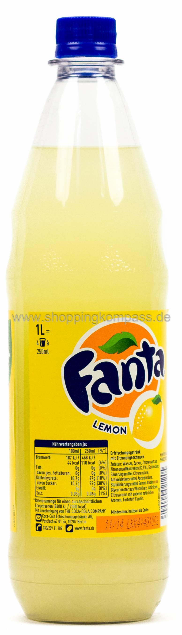 Fanta Lemon 1 l PET Mehrweg