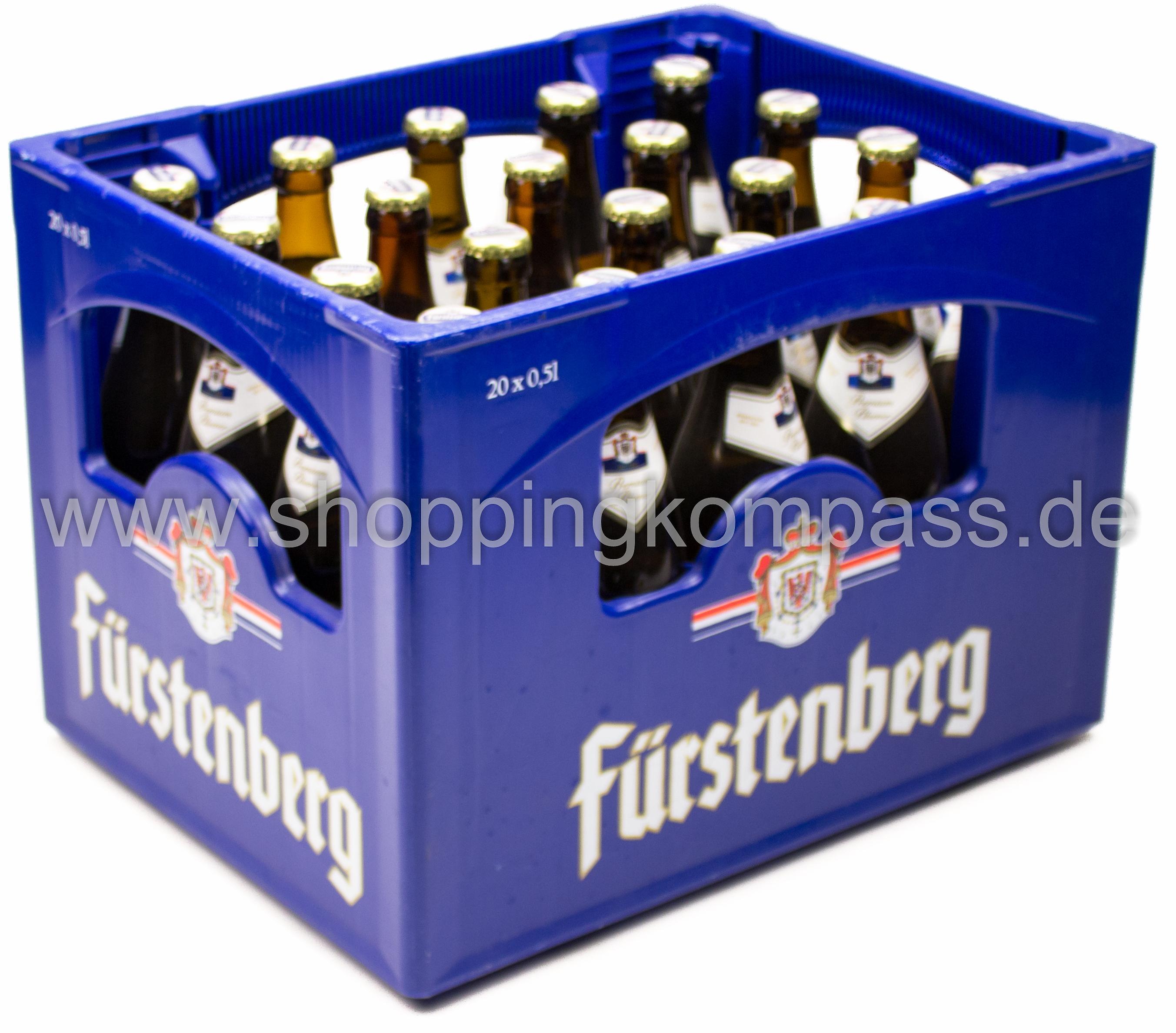 Fürstenberg Pils Kasten 20 X 05 L Glas Mehrweg