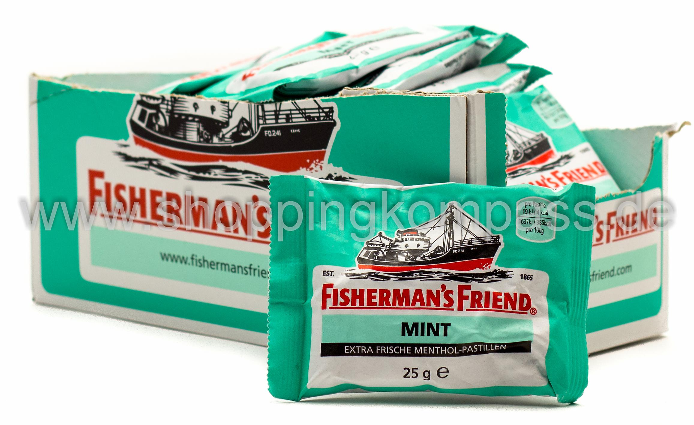 Fisherman's Friend Mint Karton 24 x 25 g