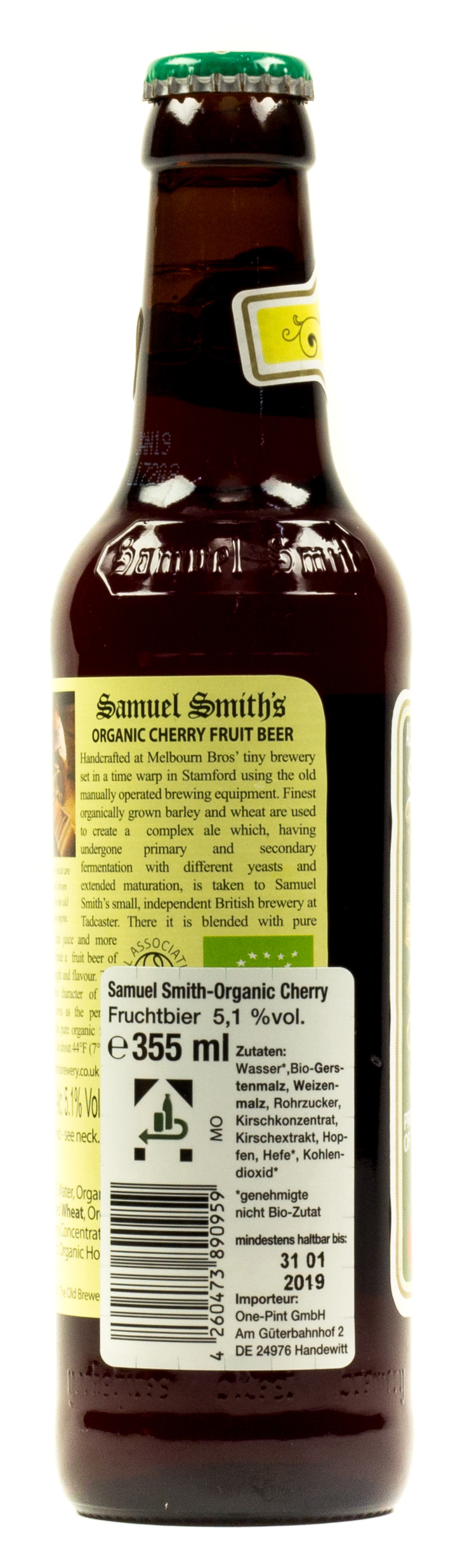 Samuel Smith Organic Cherry 0,33 l Glas Mehrweg