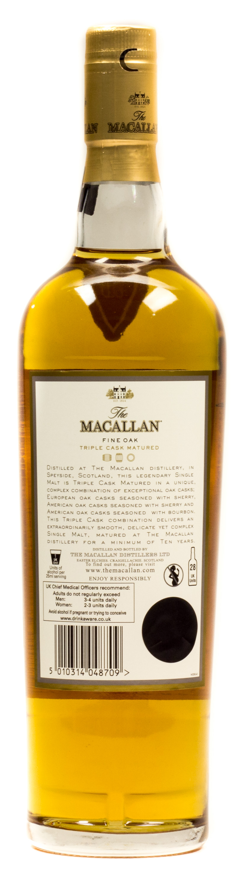 The Macallan Fine OAK Highland Single Malt Scotch Whisky 10 years 0,7 l