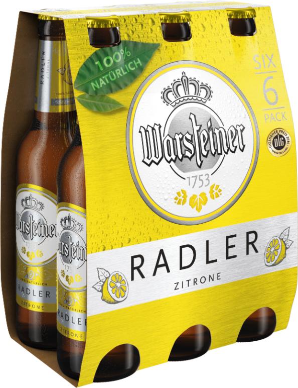 Warsteiner Lemon 6er-Pack